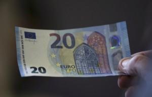 nota 20 euros